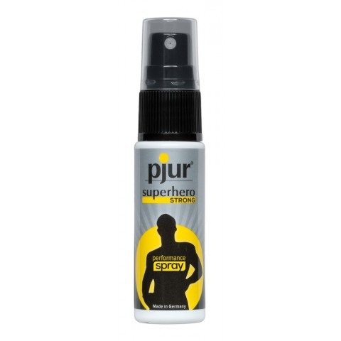 pjur Superhero STRONG - késleltető spray (20ml)